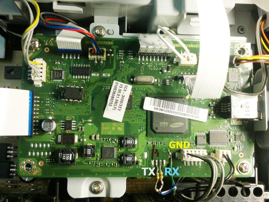 принтер самсунг 3400 инструкция